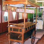 *1940 Ice cream cart* Ice cream museum at Grupo Alacant