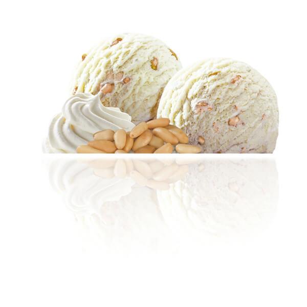 Cream & Pine Nuts