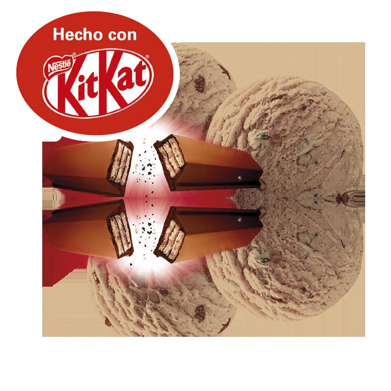 Hecho con Kit Kat